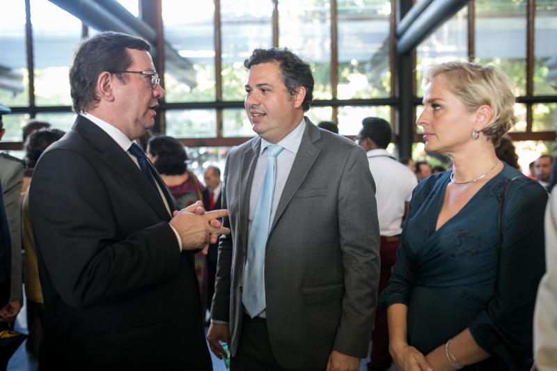 Lucio Ferreira Gomes, Samuel Dias e Paola Braga