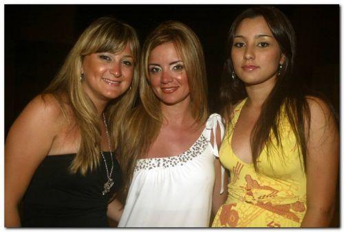 Natalia Monteiro, Carolina Fraga e Lara Carvalho