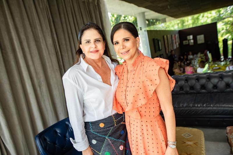 Celina Fiuza e Maria Lucia Negrao