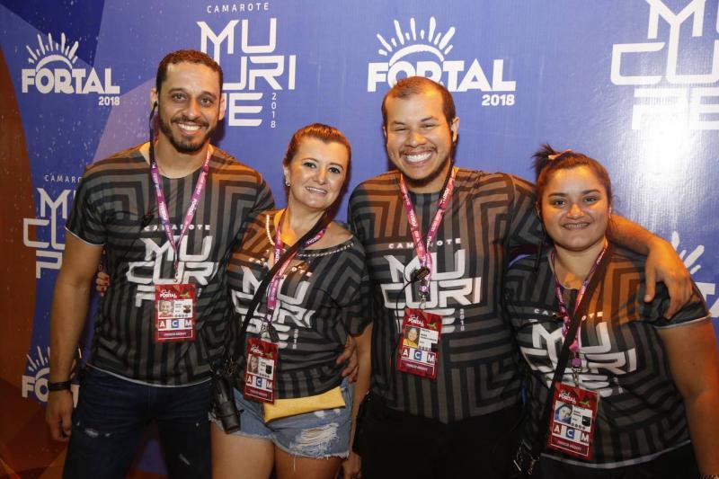 Paulo Junior, Sandra Bezerra, Pedro Aryelle e Naiara Castro