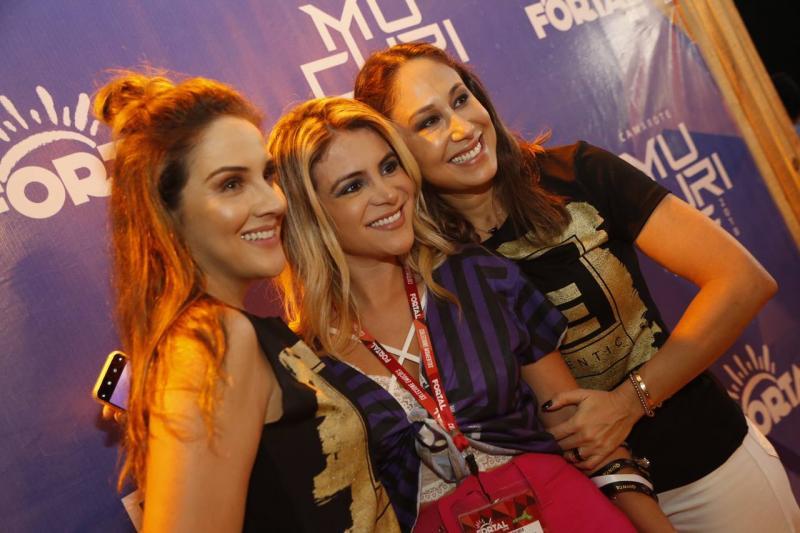 Natalia Marques, Kamila Melo e Larissa Coelho 2