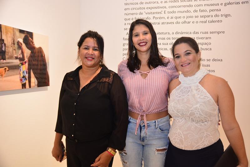 De Jesus, Helena Tabosa e Marina Monteiro