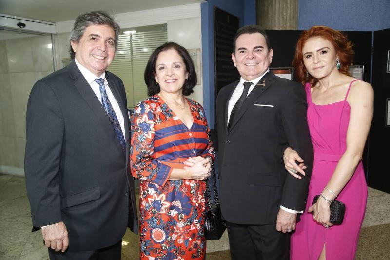 Totonho e Elusa Laprovitera, Walker e Fatima Santiago