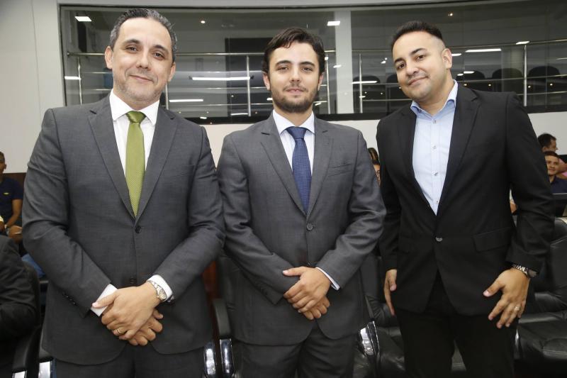 Fernando Brigido, Joao Marcelo e Fernando Santa Cruz