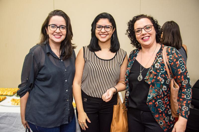 Camila Andrade, Juliana de Paula e Tabata Alencar