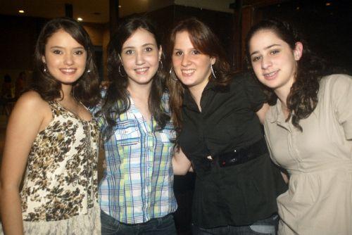 Priscila Benevides, Cind Sanford, Naiana Benevides e Ticiana Rodrigues