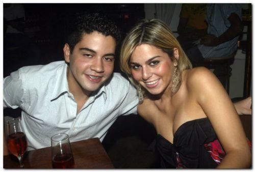 Leandro Teixeira e Amanda Tavora