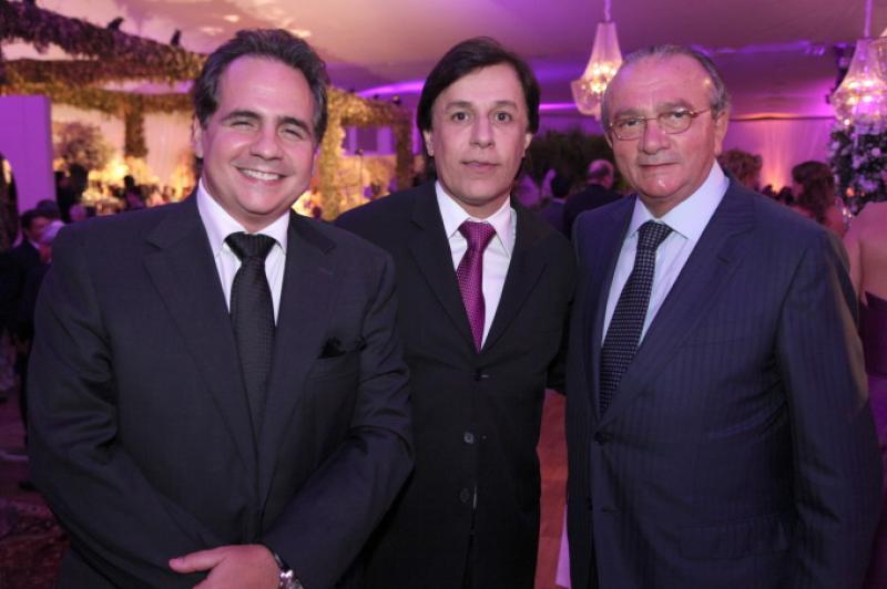 Ricardo Bacelar, Tom Cavalcante e Cesar Asfor Rocha