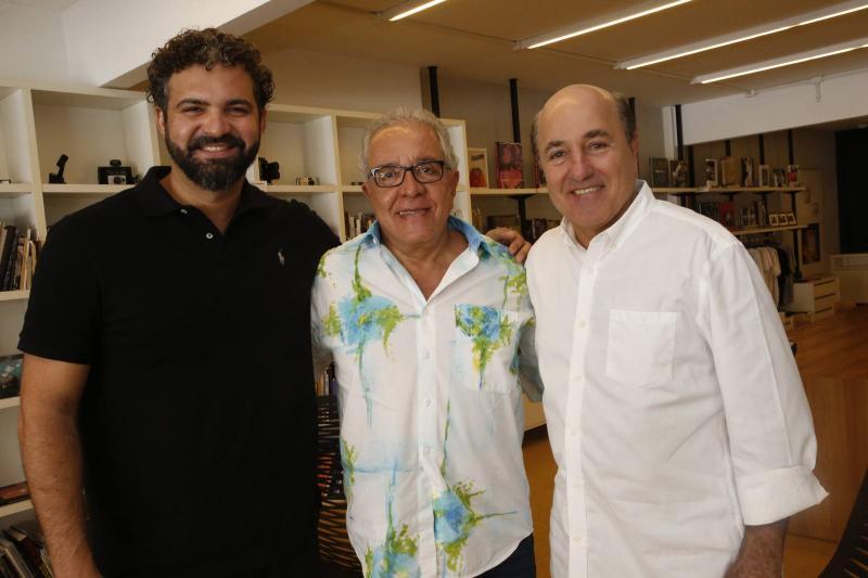 Daniel Taveira, Ronald Assumpcao e Silvio Frota