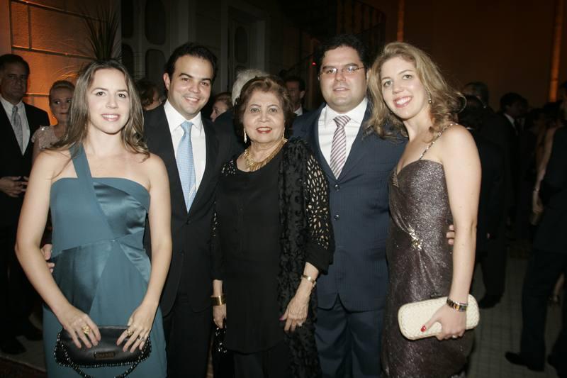 Isabella e Drauzio Barros, Edy Rolim, Ticiana e Edson Queiroz Neto