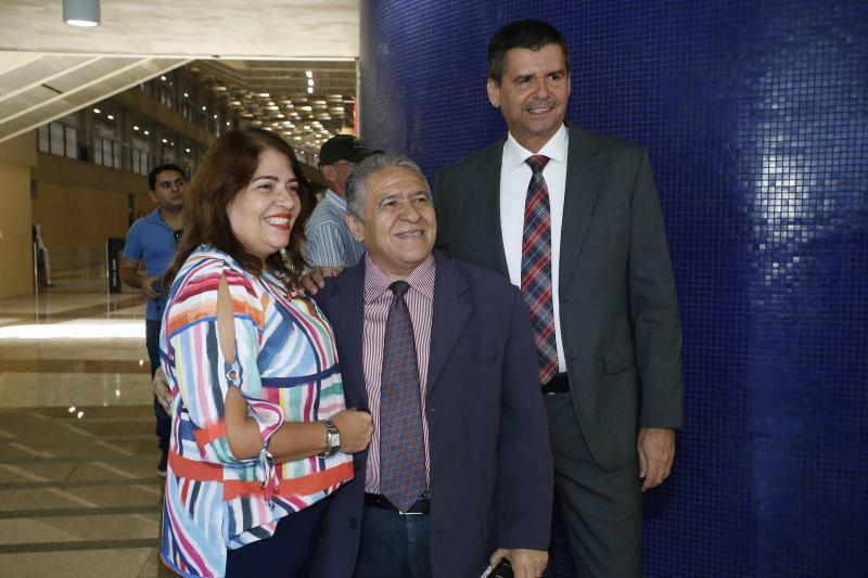 Sandra Valeri, Antonio Viana e Juraci Muniz