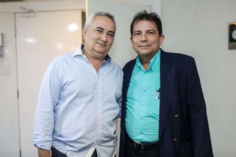 Francisco Pontes e Fernando Castro Alves