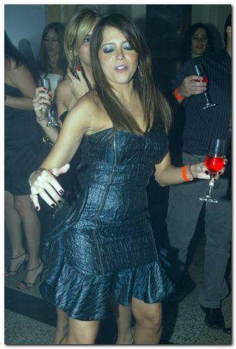 Sarinha Diniz festeja seus 30 anos no Bardot