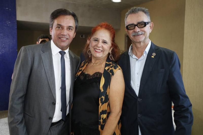 Fernando Novaes, Fatima Duarte e Maia Junior