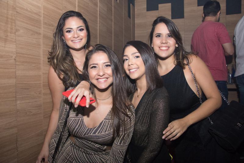 Amanda Teles, Louise Farias, Julia Saboia e Gaby Caetano
