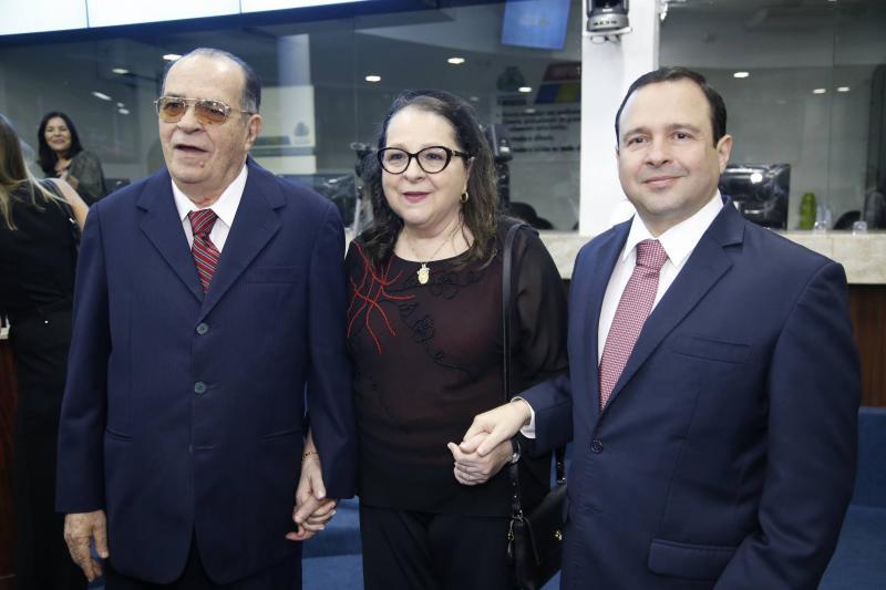 Regis, Siglinda e Igor Barroso