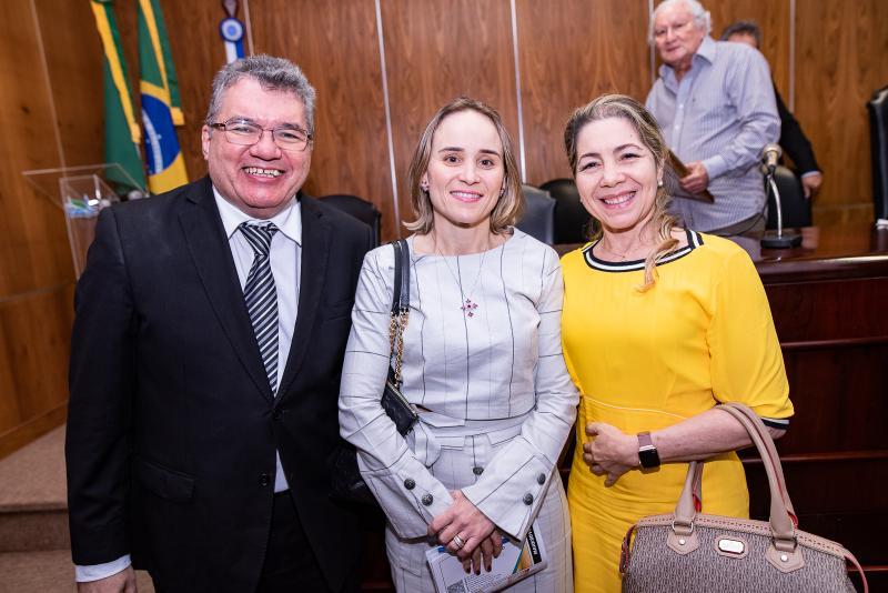 Jose Damaceno, Fernanda Pacobahyba e Solange Marinho