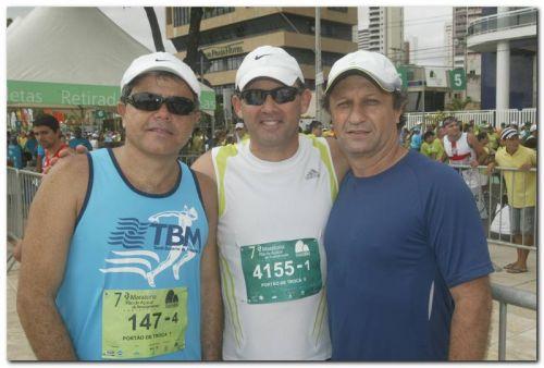 Ivan Bezerra, Elisiario Junior e Luiz Dudeca