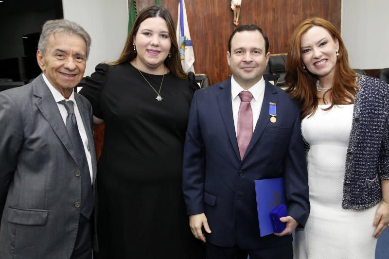 Magela e Livia Felix, Igor e Aline Barroso