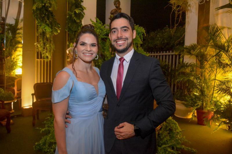 Jessica e Felipe Bayma