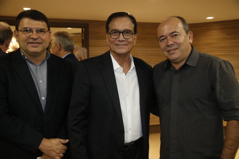 Sergio Lopes, Beto Studart e Tarcisio Fontenele