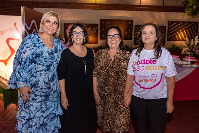 Priscila Cavalcante, Neuma Figueiredo, Nereide Figueiredo e Soraya Palhano