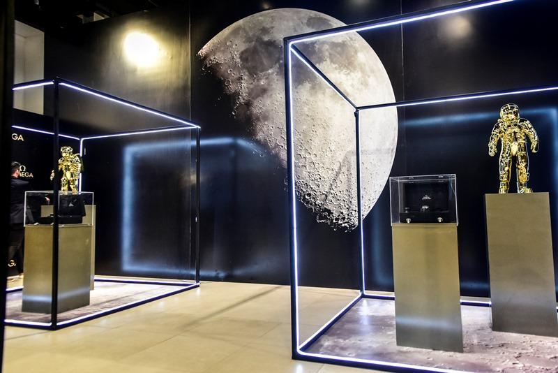 Exposicao dos 50 anos do pouso na Lua