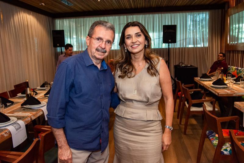 Egidio Serpa e Marcia Travessoni