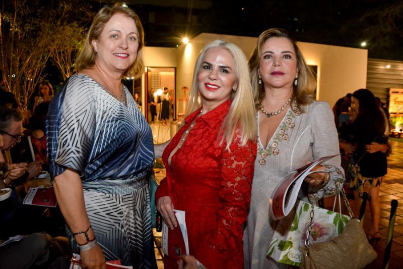 Regiane Oliveira, Marise Castelo Branco e Sandra Laze