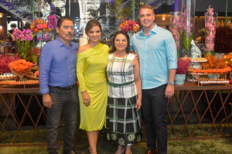 Francisco, Viviane, Socorro e Fabricio Martins