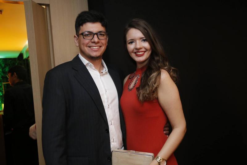 Carlos Andrade e Camila Cavalcante