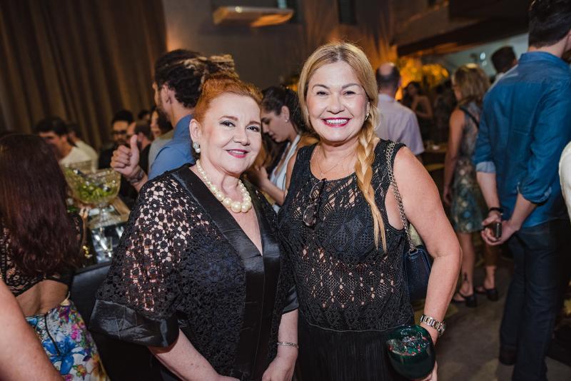 Claudia Reboucas e Stela Salles