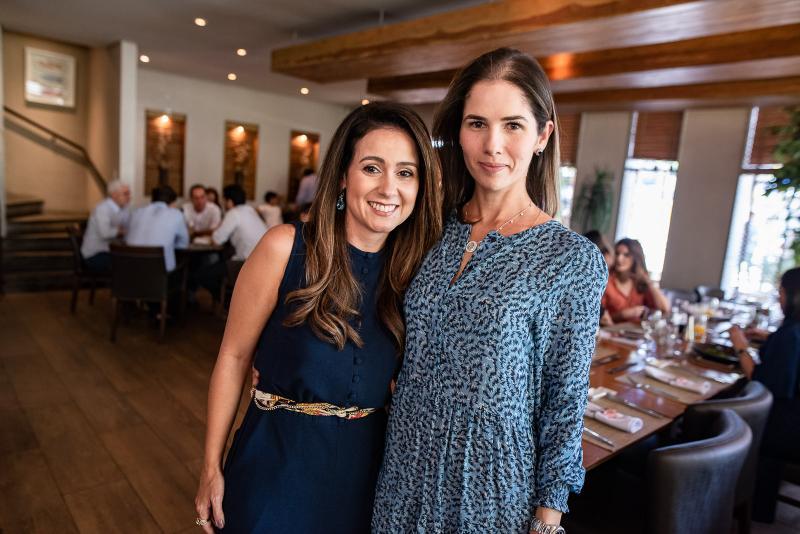 Claudiana Loureiro e Caroline Borges