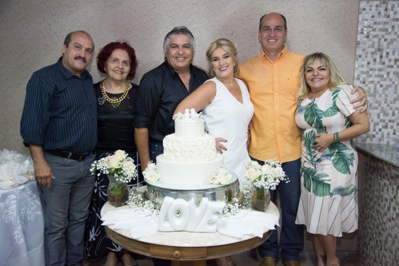 Creuza, Carlos Alberto, Liris, LC, Adriana, Ibsen e Thea Moreira
