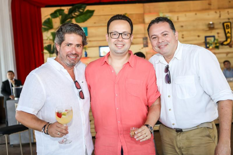 Fernando Rodrigues, Daniel Joca e Paulo França