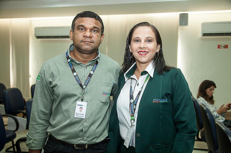 Claudio do Carmo e Renata Nunes