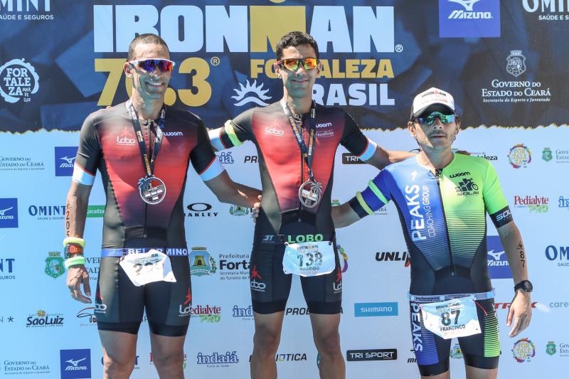 Jose Belarmino, Rodrigo Lobo e Marcelinho Brandao