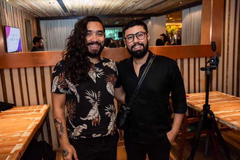 Lucas Magno e Diego Gregorio
