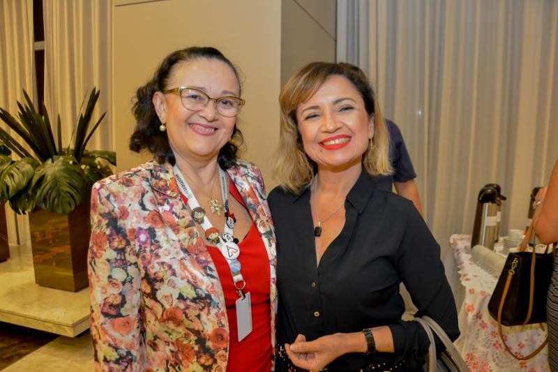 Nadja Chagas e Paula Queiroz