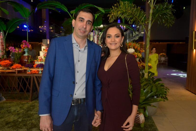 Rafael Paz e Andressa Santos