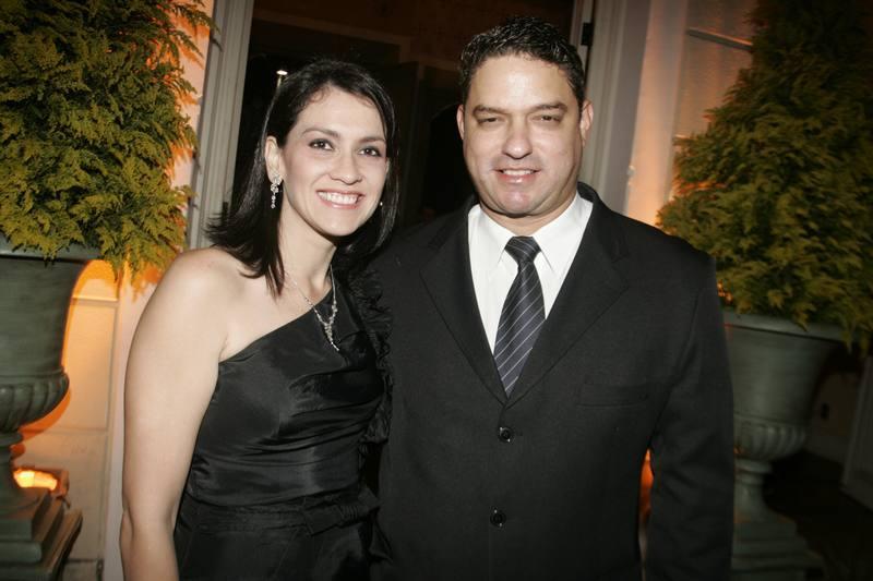 Luciana Carioca e Luiz Henrique Falcao