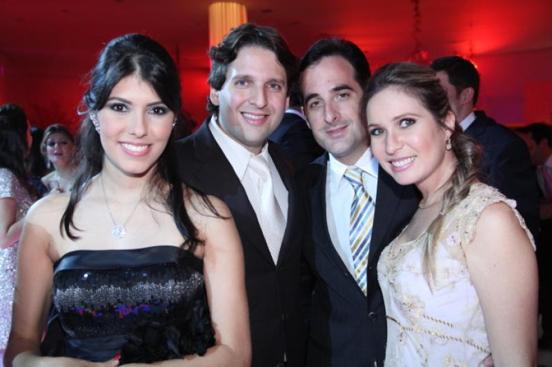Flavia Laprovitera, Daniel Otoch, Leonardo Carneiro e Fabia Simoes