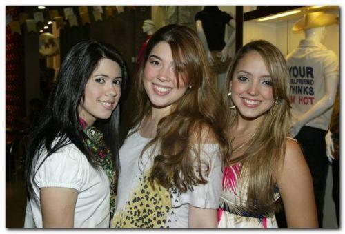 Lorena Aragao, Erica Dauer e Ravelly Marques