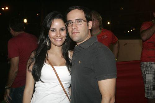 Lina e Andre Pontes
