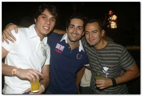 Guilherme Pitta, Mario Jambo e Ricardo Monteiro