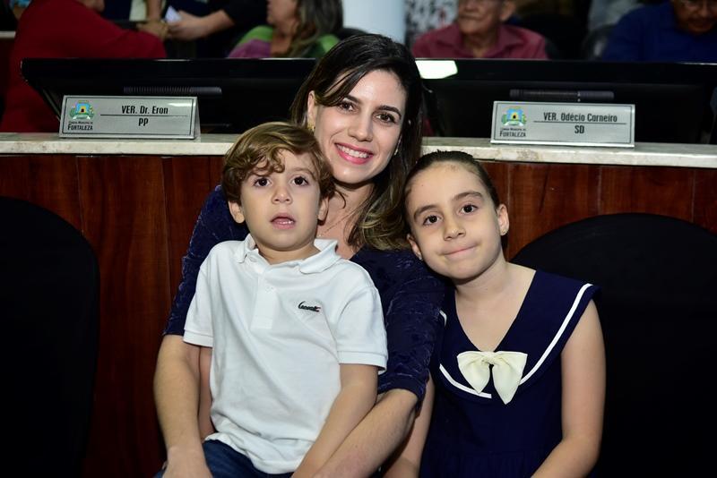 Salmito Neto, Jamile Salmito, Julia Salmito