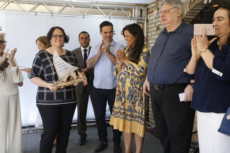 Damares Alves, Capitao Wagner, Priscila Costa e Moroni Torgan