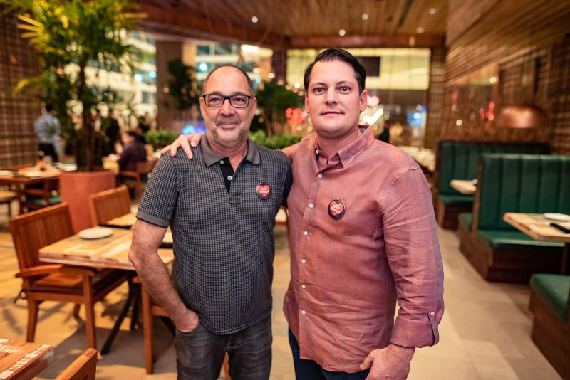 Jorge Quintero e Sylvio Drummond