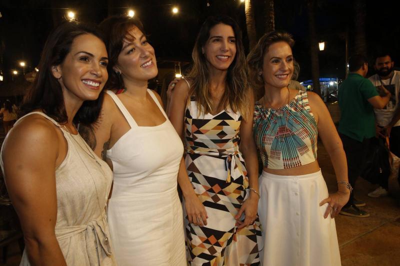 Ingrid Machado, Helen Ramos, Olga Eveline e Shirley Hilgert 2