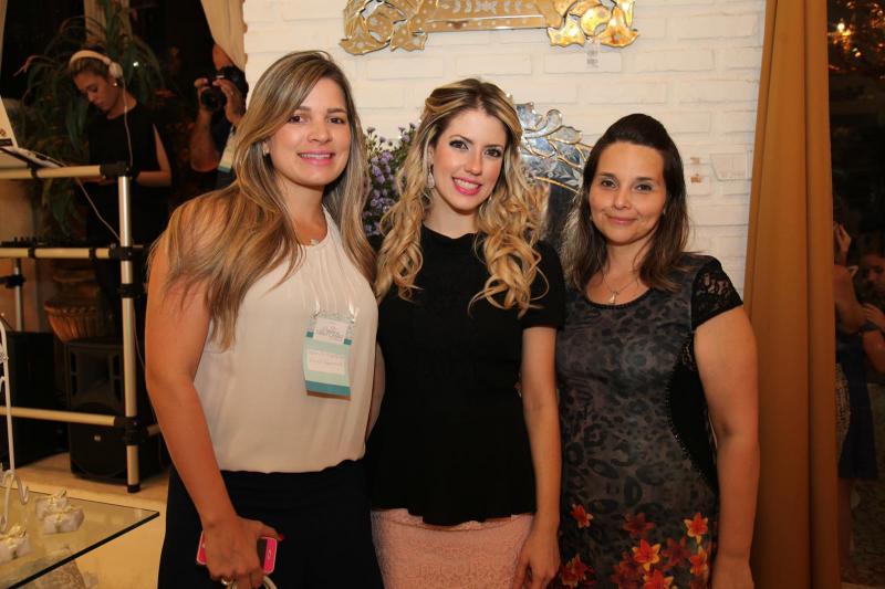 Kamila Monteiro, Raquel Macêdo e Val Tavares